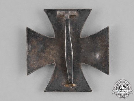 Iron Cross I Class, by O. Schickle (unmarked) Reverse