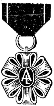 Academic Laureate Medal, I Class Obverse