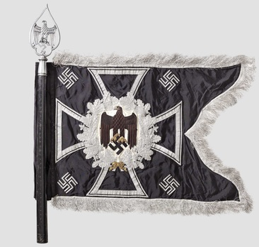 German Army General Army Unit Flag (Engineer Motorized and Mounted version) Obverse