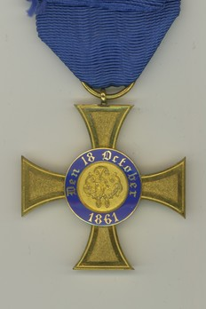 IV Class Cross (in gold) Reverse