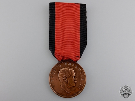 Bronze Medal (with right facing portrait) (by Stefano Johnson) Obverse