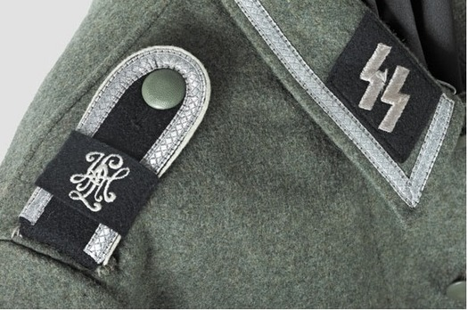 Waffen-SS NCO's Service Tunic M40 Detail