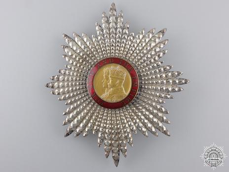 Grand Cross Breast Star (1938-) (by Garrard) Obverse