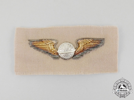 Wings (with embroidery) Obverse