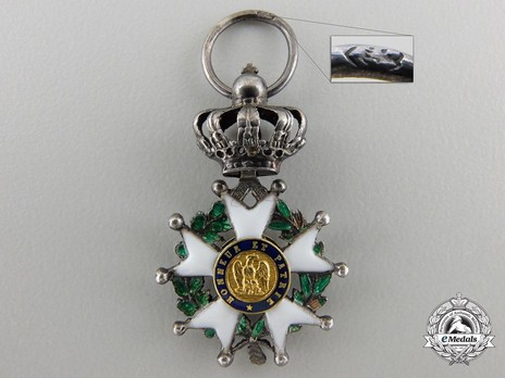 Miniature Knight (Silver and Silver gilt) Reverse