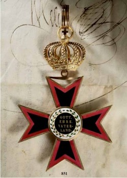 Order of Ludwig, Grand Cross (in gold)