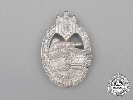 MedalBook - Panzer Assault Badge, in Silver, by Assmann