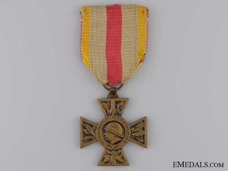 Bronze Cross (for 1914-1918, with large head) Obverse