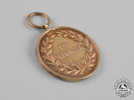 Merit Medal, Type II, in Gold