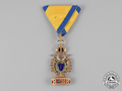 Order of the Iron Crown, Type III, Military Division, III Class (lower class)