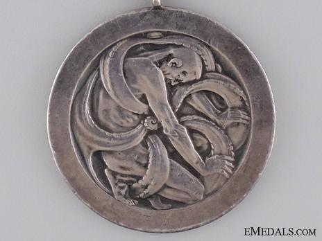 Life Saving Medal (1908) Reverse