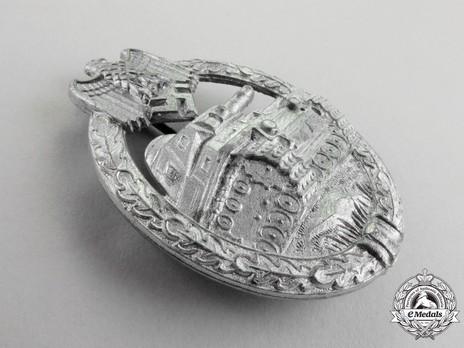 Panzer Assault Badge, in Silver, by Steinhauer & Lück Obverse