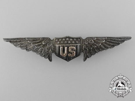 Pilot Wings (with sterling silver) (by Charles May Robbins) Obverse