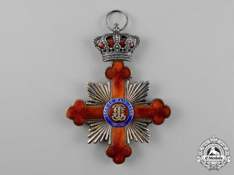 Order of Carol I, Grand Cross Reverse