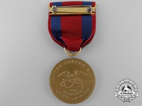 Bronze Medal (for Navy) Reverse
