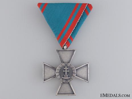 Hungarian Order of Merit, Cross of Merit in Silver, Civil Division Obverse