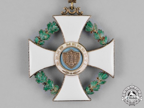 Order of Saint Agatha, Grand Officer Reverse