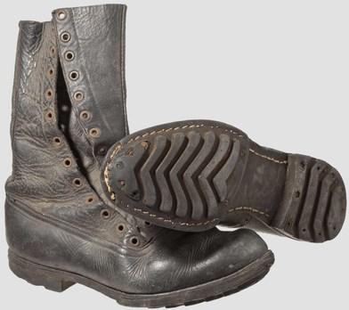 Luftwaffe 1st Model Jump Boots Obverse & Sole