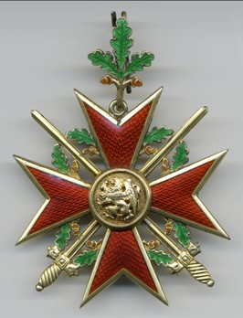 Order of the Griffin, Military Division, Grand Cross Reverse