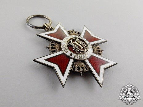Order of the Romanian Crown, Type II, Civil Division, Grand Cross Obverse
