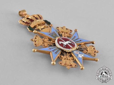 Dukely Order of Henry the Lion, Grand Cross (in gold) Obverse