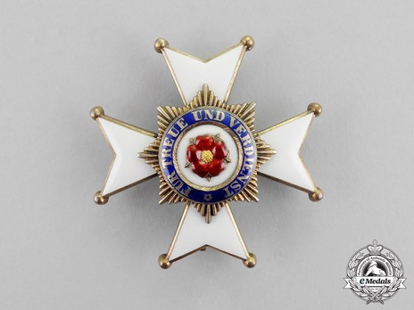 House Order of the Honour Cross, Type II, Officers' Cross