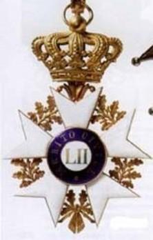 Order of Civil Merit, Officer Obverse