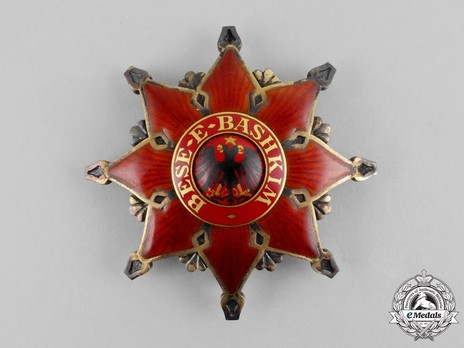 Order of the Black Eagle, Grand Officer's Breast Star Obverse