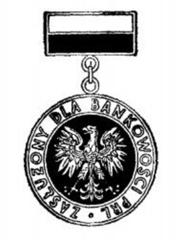 Decoration for Merit to Banking Services Obverse