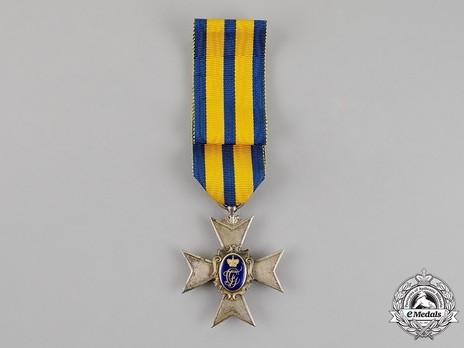 Schwarzburg Duchy Honour Cross, Civil Division, III Class Honour Cross (in silver gilt)