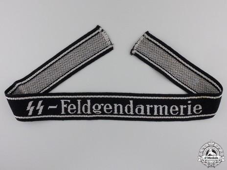 Waffen-SS Feldgendarmerie Cuff Title Obverse