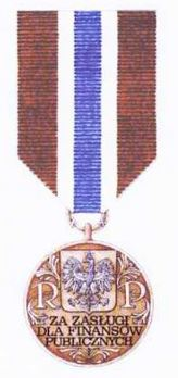 Decoration for Merit in the Financial Industry Obverse