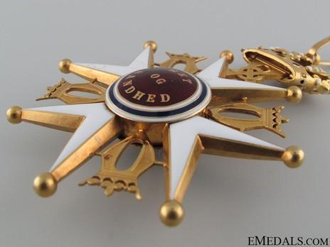 Order of St. Olav, II Class Commander, Civil Division Detail