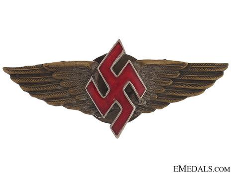 Meritorious Pilot's Badge Obverse