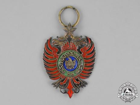 Order of Skanderbeg, Type I, Grand Officer's Cross Obverse