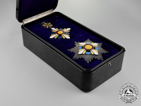 Order of the Auspicious Clouds, I Class Grand Cordon Case of Issue