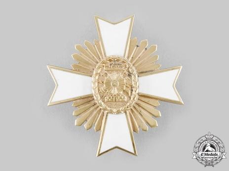 Order of May, Military Merit, Grand Cross Breast Star