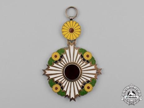 Order of the Chrysanthemum, Grand Cordon Badge Obverse