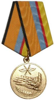 Service in the Air Force Circular Medal Obverse