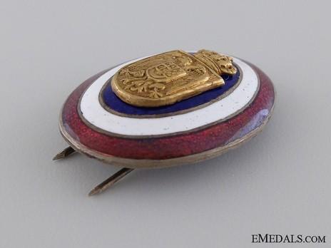 Royal Yugoslavian Police Officer's Badge Obverse