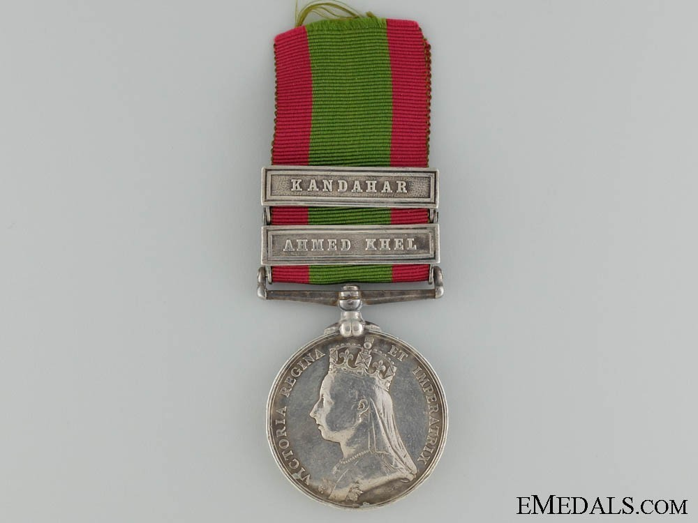 Silver medal with 2 clasps obverse