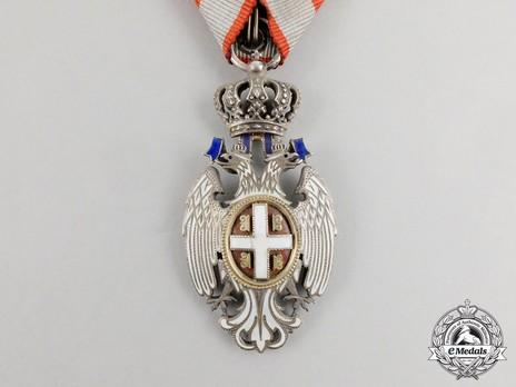 Order of the White Eagle, Type I, Civil Division, V Class Obverse