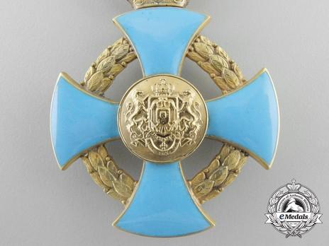 Order of Faithful Service, Officer's Cross Reverse