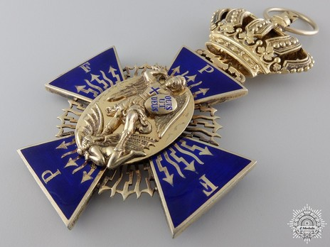 Royal Order of Merit of St. Michael, I Class Cross Obverse
