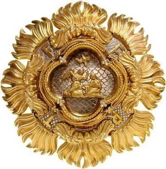 Order of the Most Holy Annunciation, Breast Star (in silver and silver-gilt) Illustration