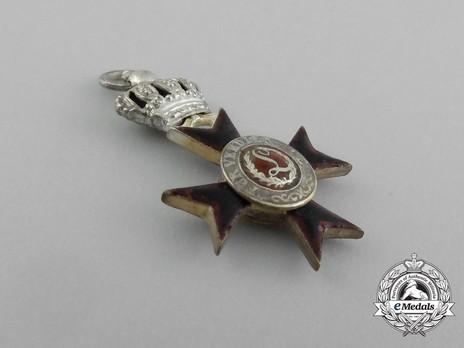 Order of Ludwig, Miniature II Class Knight's Cross Obverse