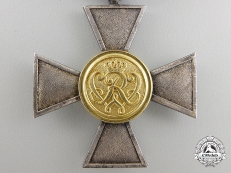 I Class Cross for 20 Years (in silver gilt)