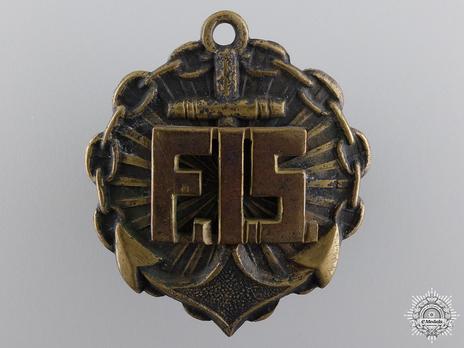 Naval Instructor Badge (1920-1930) Obverse