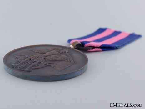 Royal Order of Merit of St. Michael, Bronze Medal Obverse