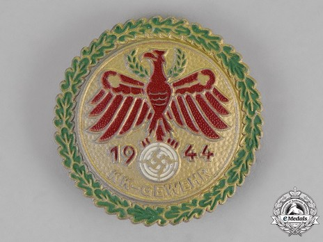 Tyrolean Marksmanship Gau Achievement, Type VII, Champion Badge (for small calibre rifle) Obverse
